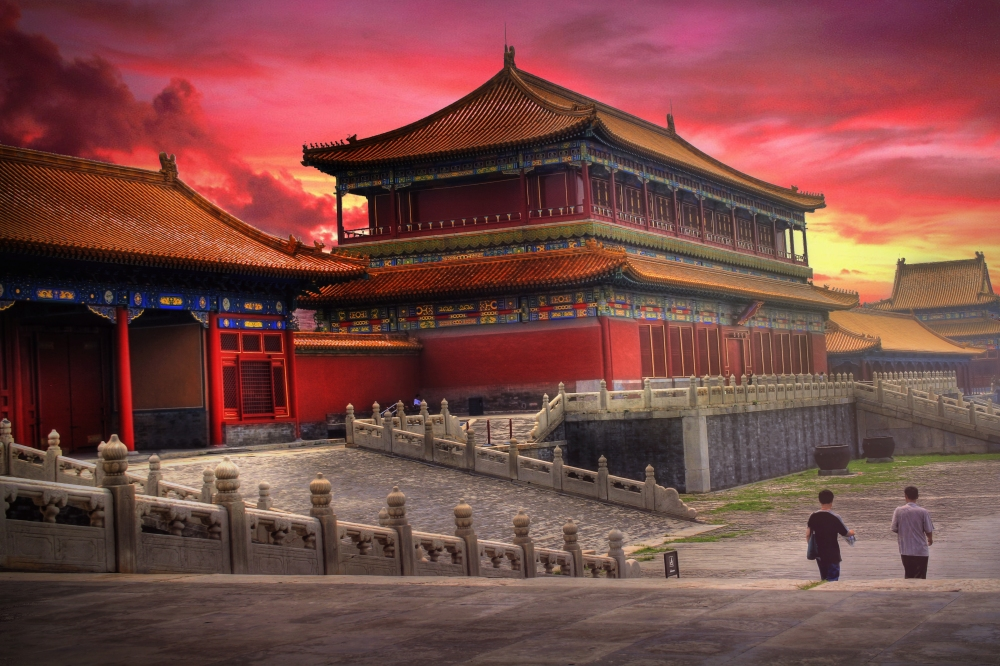 The Forbidden City in Beijing opened in 1420 A.D.