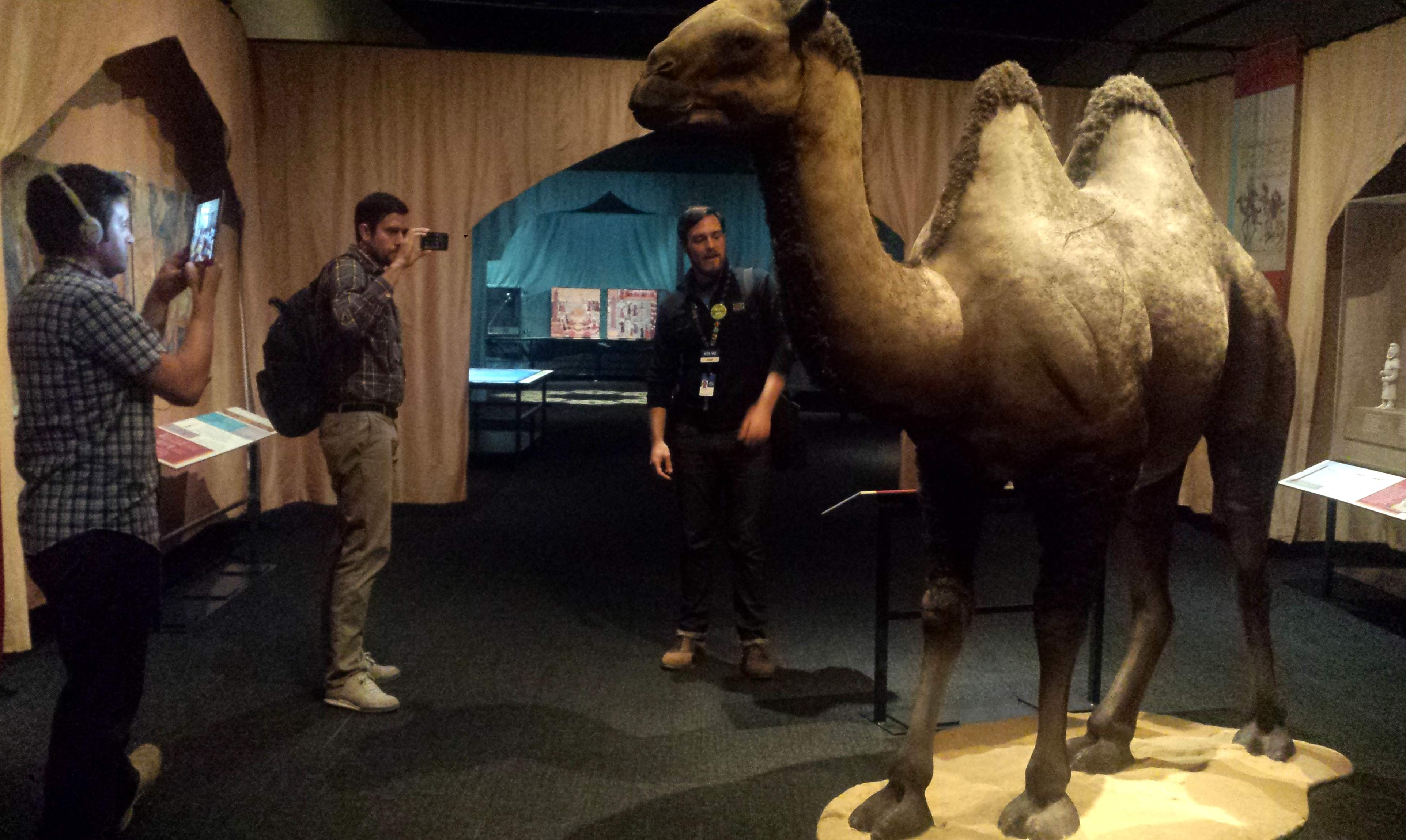 BGL's Teacher Seth and Teacher Travis connect to Taiwan while NHM's Jesse teaches about the camels that traveled along the Silk Road.