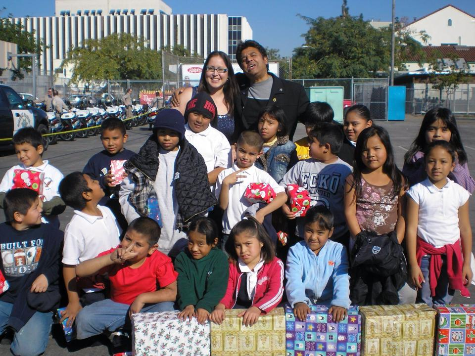 Celebrating Christmas in LAUSD.
