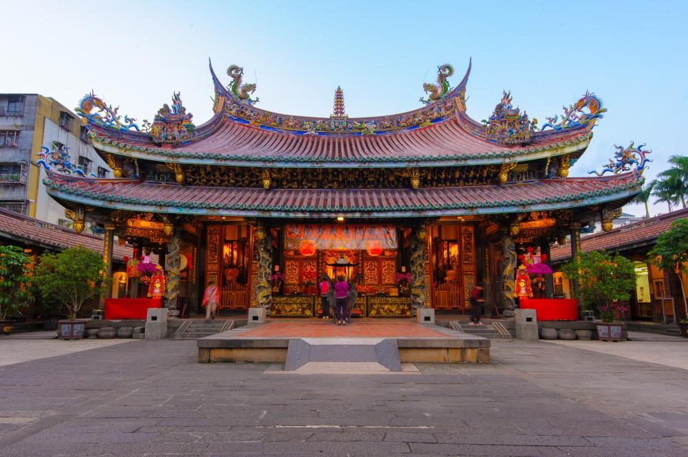 Bao An Temple in Taiwan.